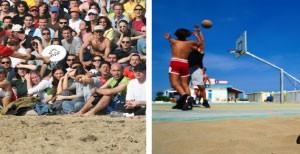 Sport Beach volley
