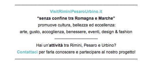 VisitRiminiPesaroUrbino - attività senza confine tra Romagna e Marche