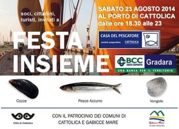 """FESTA INSIEME 2014 la cooperazione è """"in porto"""""""