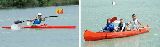 Sport canoa