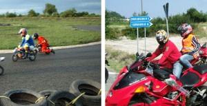 Sport motociclismo minimoto kart quad