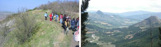 Osservatorio naturalistico Valmarecchia Oasi Montebello Torriana RN
