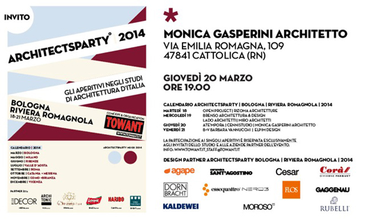Architectsparty Monica Gasperini Architetto Cattolica 2014-03-20