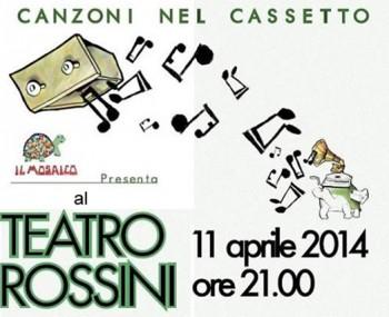 Canzoni nel Cassetto  Teatro Rossini di Pesaro
