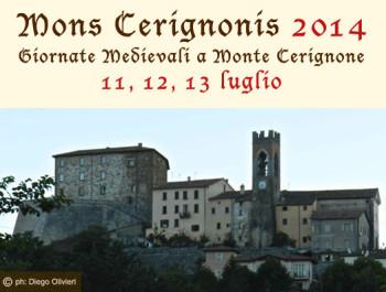Mons Cerignonis giornate medievali
