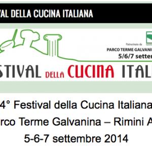 Festival della cucina italiana Rimini 2014