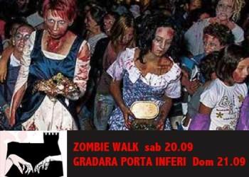 Zombie Walk Gradara Porta Inferi