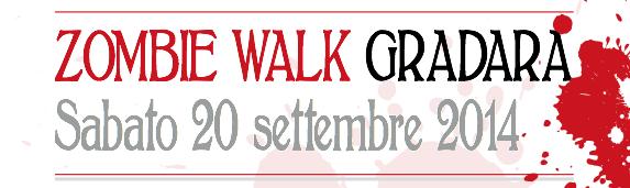 Zombie Walk Gradara Sabato 20 settembre 2014